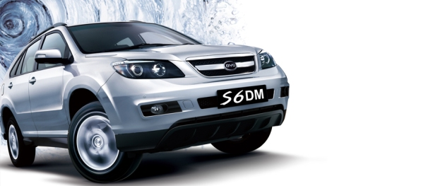 byd s6dm dual hybrid car