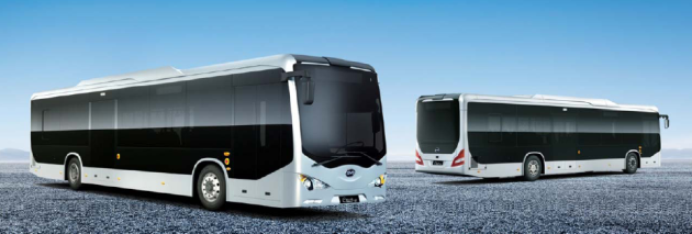 BYD's GreenCity 12 meter Pure-electric Bus